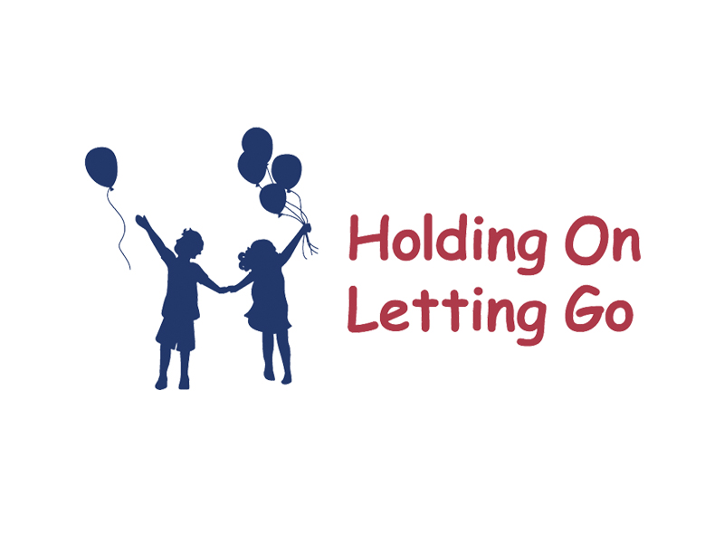 Holding on letting go logo