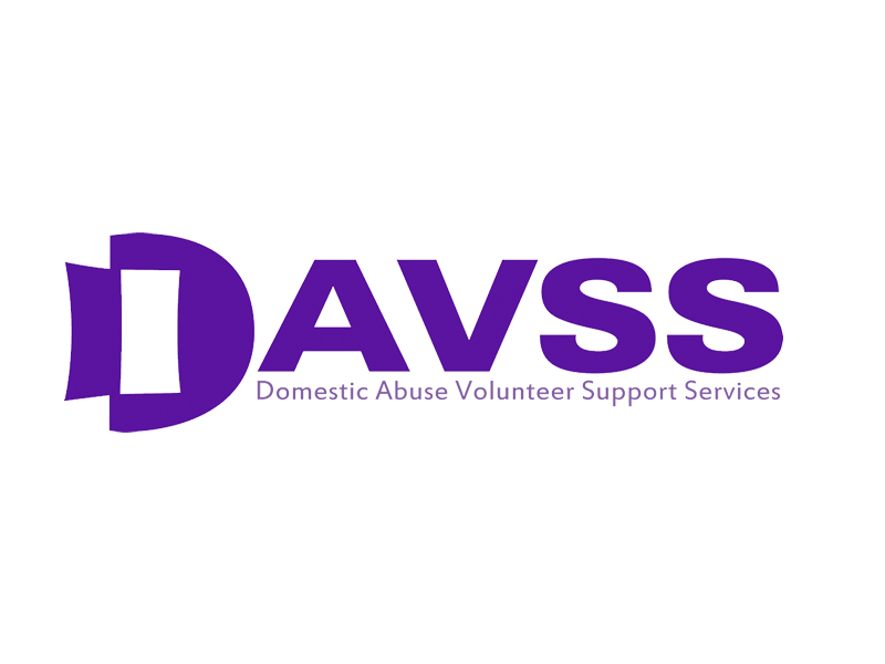 Domestic abuse volunteer support service logo
