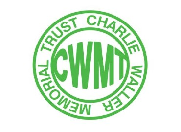 White background with green Charlie Waller Memorial Trust logo