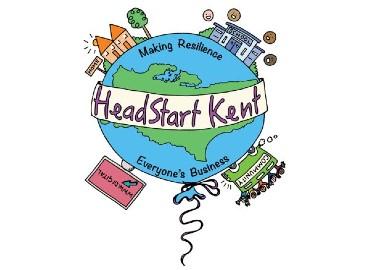 HeadStart Kent balloon logo
